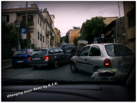 Changing Lanes in Rome
