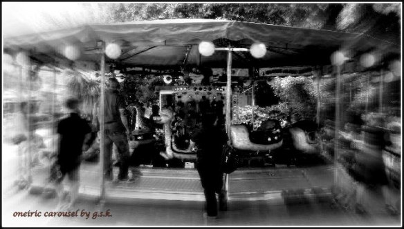oneiric carousel B/W