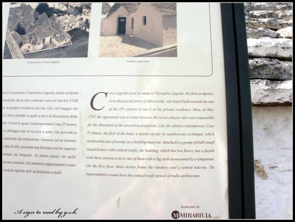 about casa Lippolis