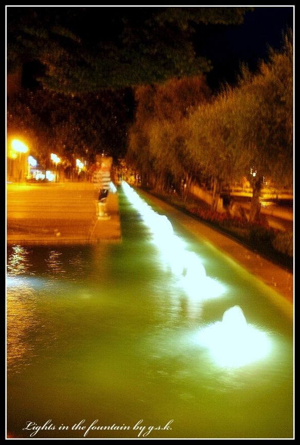 Lights in the Fountain