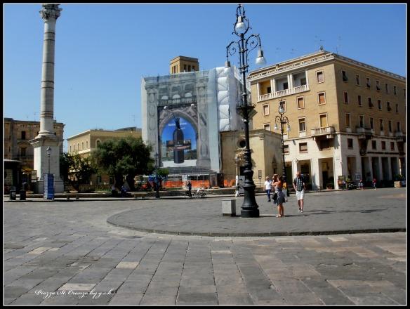 Piazza St. Oronzo diff. View