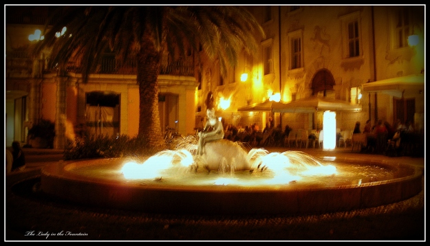 Lady in the Fountain