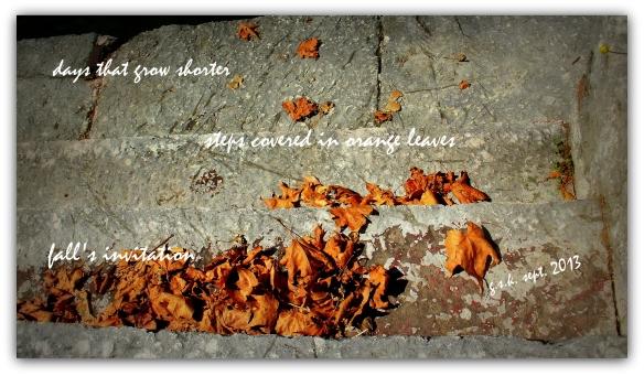 Fall invitation