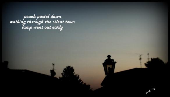 haiga dawn