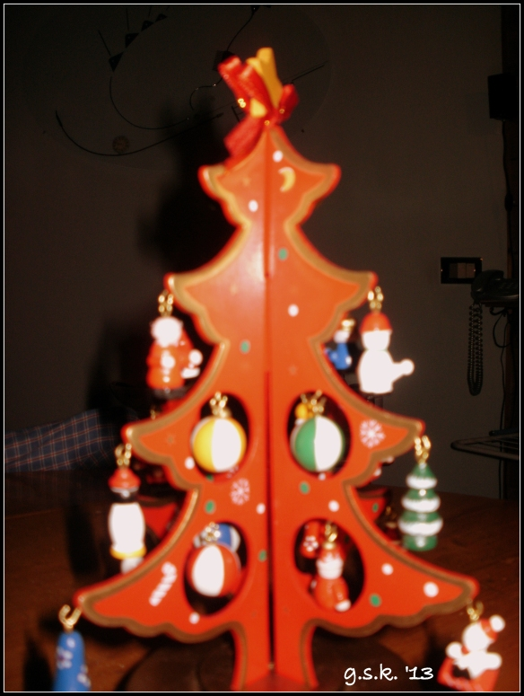 Christmas tree music box