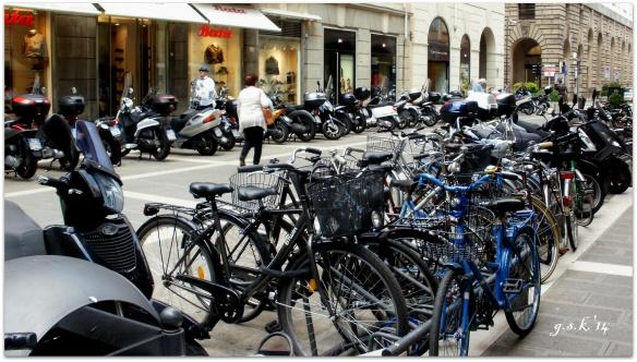 bikes in Padova