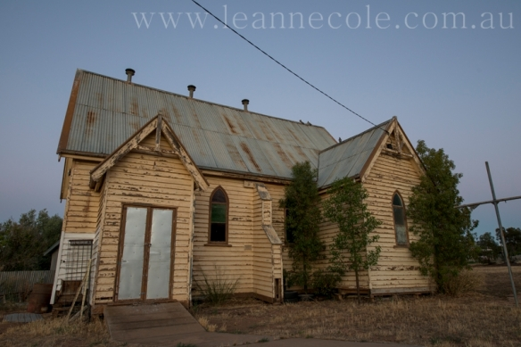 Local disused church – Woomelang, Australia