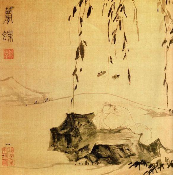Dschuang-Dsi-Schmetterlingstraum-Zhuangzi-Butterfly-Dream from Wikimeadia Commons