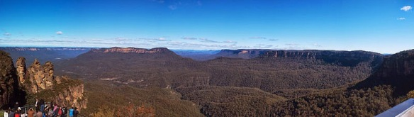 The Blue Mountains also known as The Three Sisters
