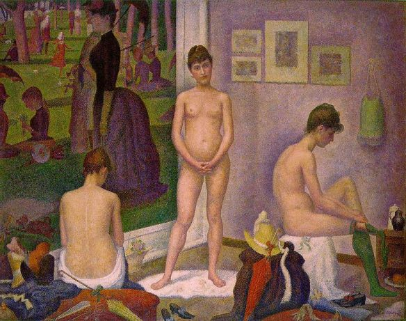 Les Poseuses - Credit: Barnes Foundation, Philidelphia