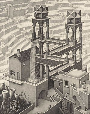 MC-Escher-Waterfall-19611-300x380