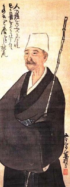 BASHO by Yosa Buson (1716 - 1784) http://en.wikipedia.org/wiki/File:Basho_by_Buson.jpg
