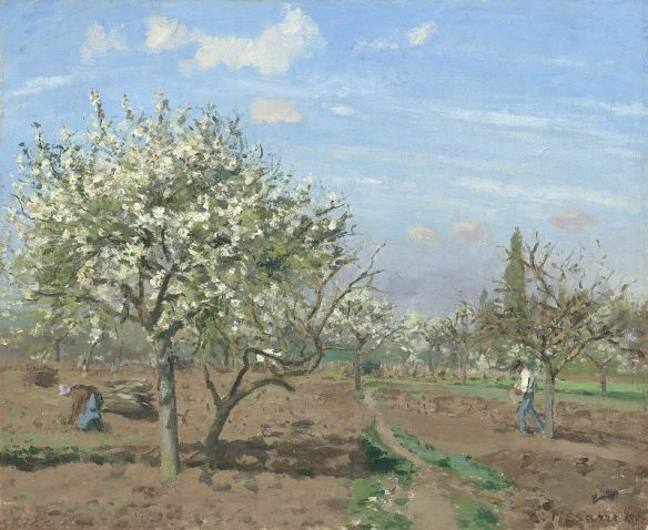 Camille_Pissarro,_Le_verger_(The_Orchard),_1872