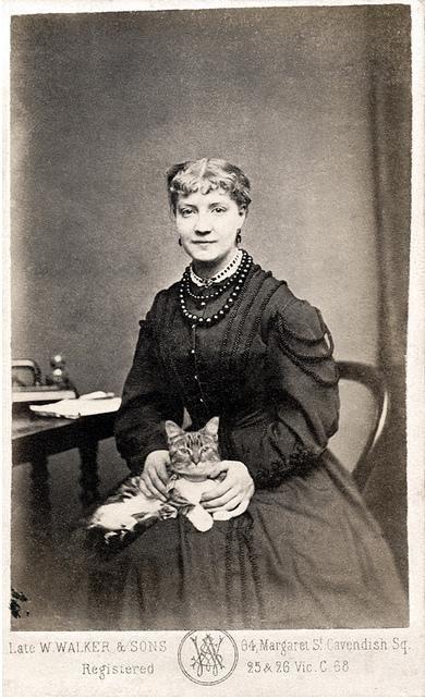Nellie Moore (photo 1860 circa)