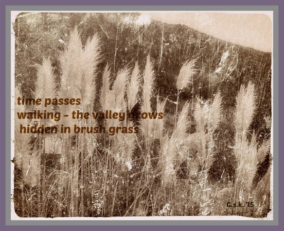 Old brush grass_haiga_2