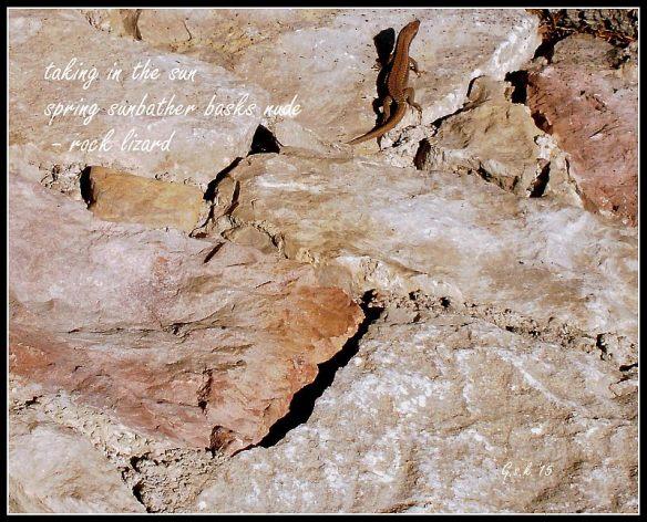 Rock Lizard Haiga
