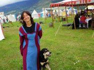 Livia and her dog Tinga