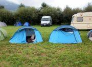 Modern campsite - my tent