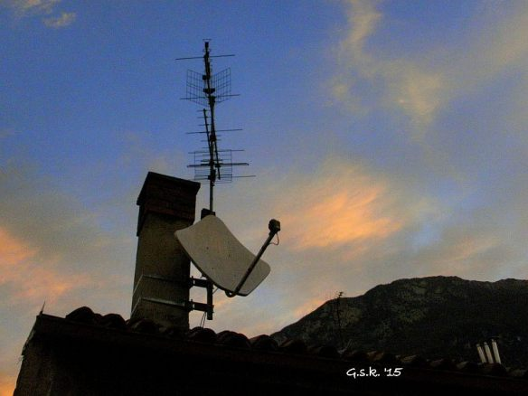Antennas at dawn