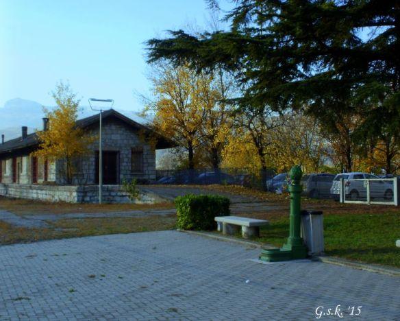 Mori Train Station