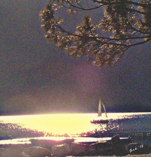 impressionistic sailing