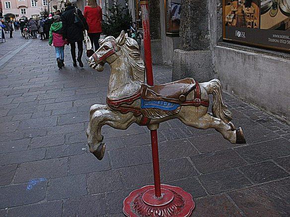 wooden horse- Innsbruck Christmas fair