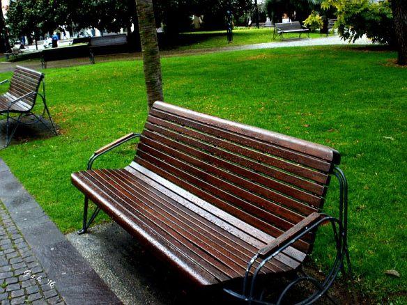 Park Bench - Riva del Garda