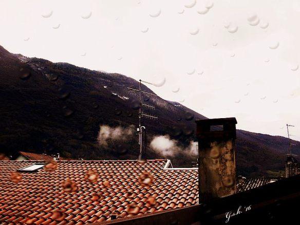 rain rooftops